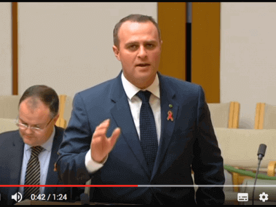 Tim Wilson MP Goldstein Christmas Giving Appeal